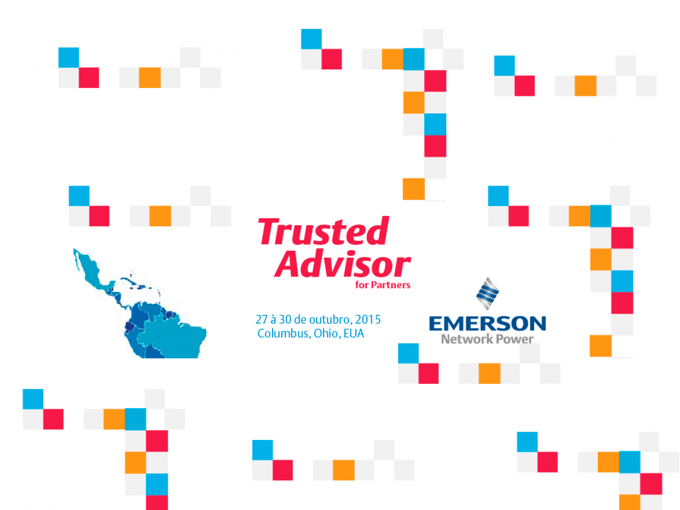 Evento Trusted Advisor for Partners da Emerson Network Power