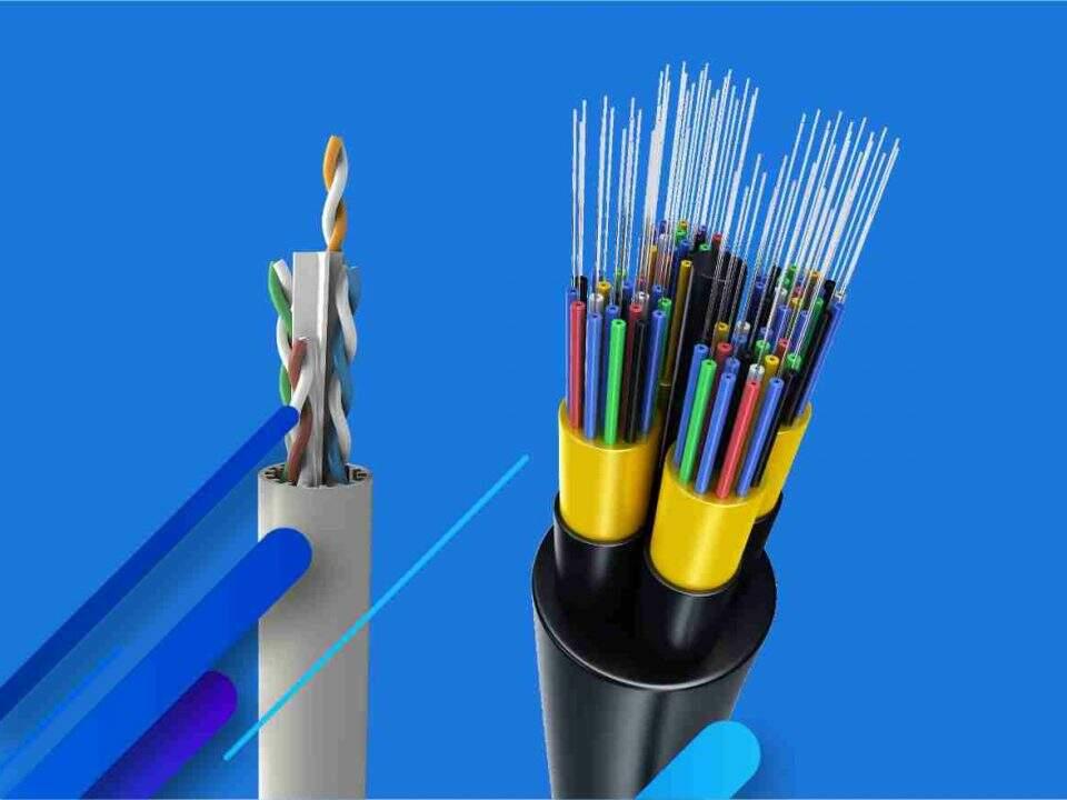 metálico ou óptico qual cabo escolher